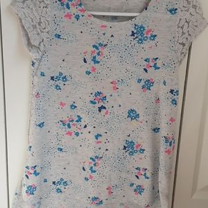 Shirt with butterflys